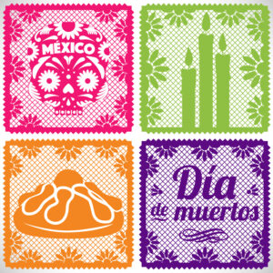 papel picado, day of the dead tradition