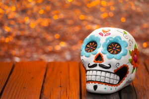sugar skull, day of the dead tradition