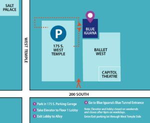 blue iguana map and directions